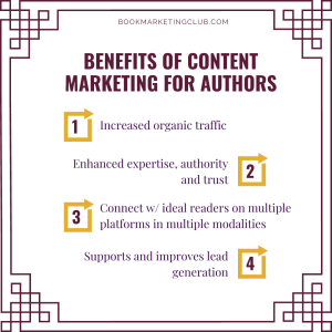 Benfits of Content Marketing