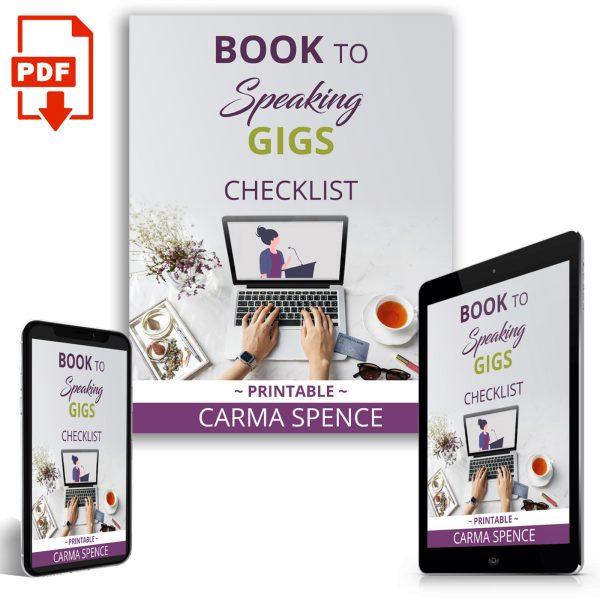 Book to Speaking Gigs Checklist