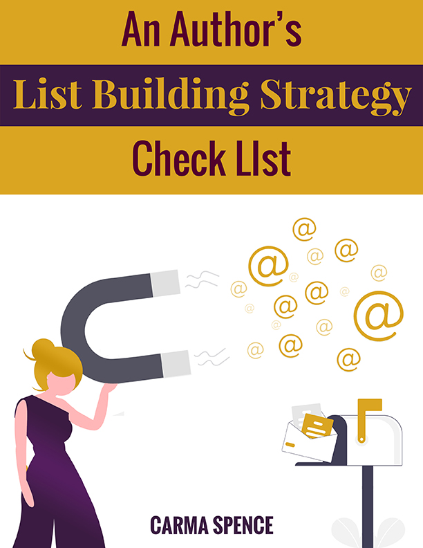 An Author's List Building Strategy Check List