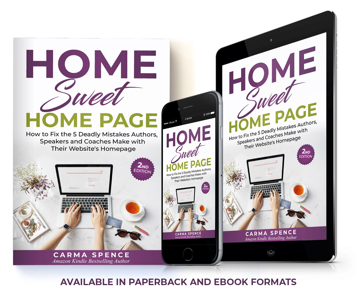 Home Sweet Home Page - Available in Paperback and Ebook