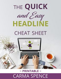 The Quick and Easy Headline Cheat Sheet