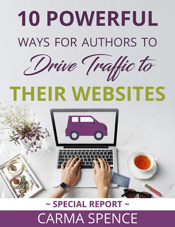 10 Power Ways for Authors to Drive Traffic To Their Website