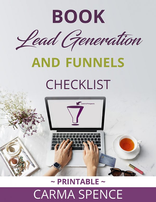Book Lead Generation and Funnels Checklist