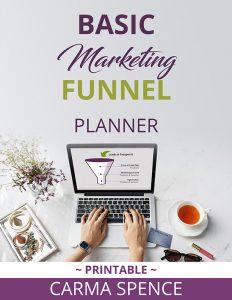 Basic Marketing Funnel Planner cover