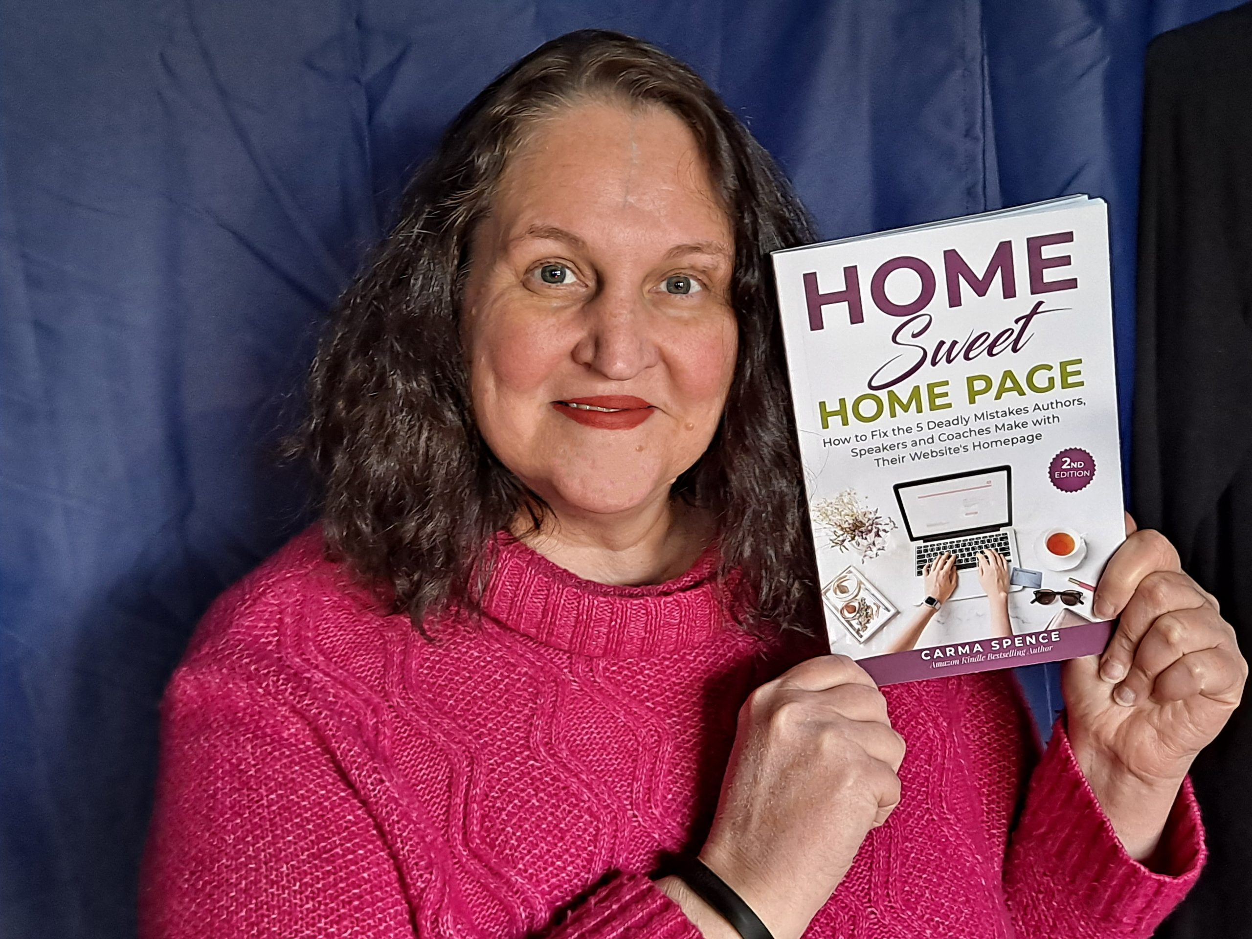 Carma holding Home Sweet Home Page 2nd Edition